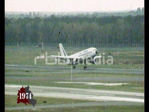 Berlin Tegel Airport opens, November 01, 1974