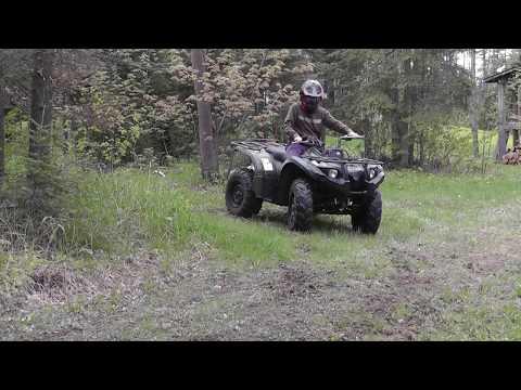2012 Yamaha Kodiak 450 specs and top speed - YouTube