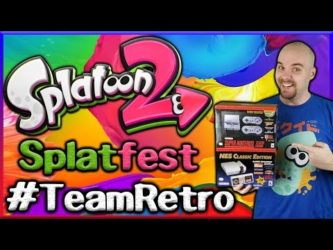 Splatoon 2 - 14 Hours of Splatfest - Team Retro + Giveaway