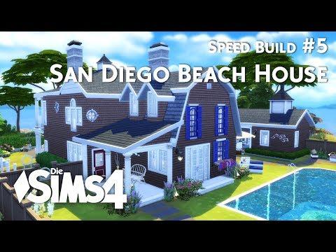 Die Sims 4 | Speed Build | San Diego Beach House #5
