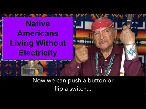 Electricity On Native American (Diné) Reservation