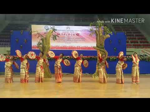Bihu | National Folk Dance Champion| Gauhati University | Assam |