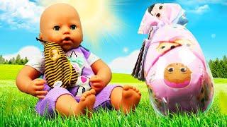 Видео игры для детей - Сюрприз для куклы БЕБИ Анабель! – Детские мультики с Baby Born