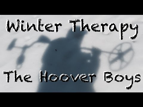 Metal Detecting Tiny Silver Coins and Relics |  Winter Therapy