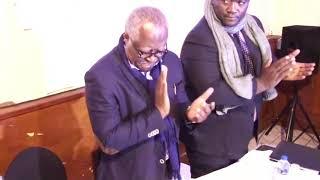 Meeting du candidat aux présidentielles du Cameroun Me Akere Muna à Nanterre 25 Février 2018 1 sur 2