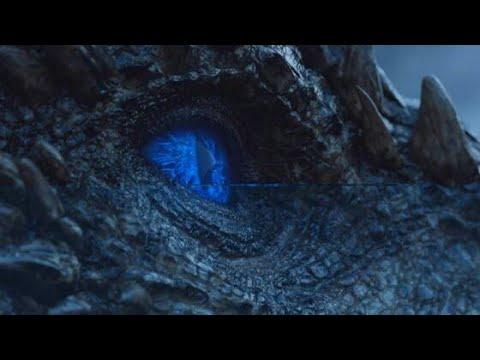 Rei da Noite transformando e ressuscitando o dragão Viserion - GOT S07E06 SPOILER