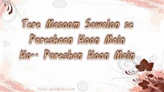 Tujhse Naaraz Nahi Zindagi Lyrics - Amanat Ali