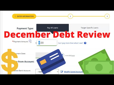 December Debt Review | Debt Payoff Update | What We Did to Pay Off Debt this Month