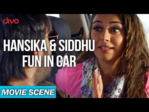 Uyire Uyire - Hansika & Siddhu Fun In Car...