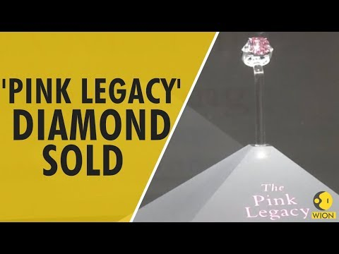 US based jeweler Harry Winston buys  'Pink Legacy' diamond for record $50 mln