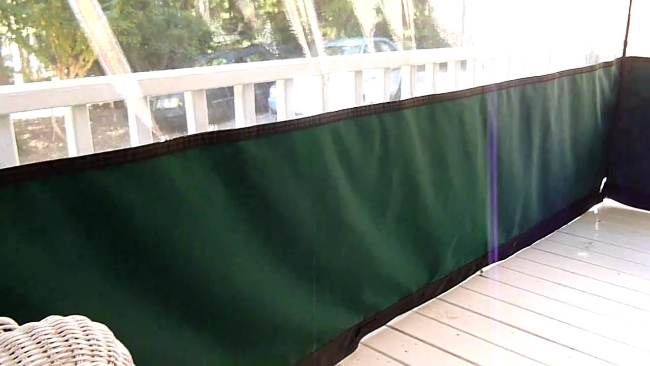 Clear Vinyl Plastic Winter Drop Panels YouTube