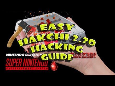SNES Mini HACK the EASY SNES MINI Hakchi 2 20 Guide Noobs Friendly