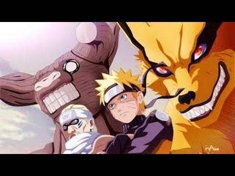 Kurama Vs Matatabi, Isobu, Son Goku, Kokou, Saiken And Chomei 1080P