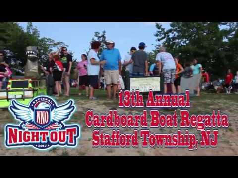 National Night Out -13th Annual Cardboard Boat Regatta - Stafford Township, NJ
