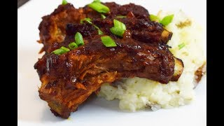 Chipotle BBQ Ribs for Father