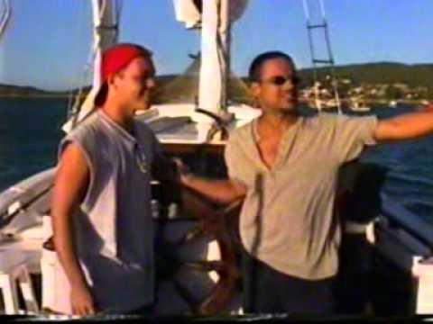 Ator Marco Polo e Angelo Antonio na novela 74.5 Uma Onda no ar