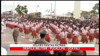 Desfile MILITAR en Pucallpa / Ucayali 2014