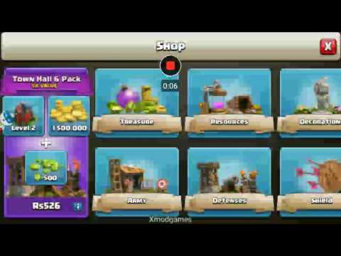 Clash of clan free credit card number