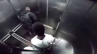 Пранк. Прикол в лифте (Ха Ха )