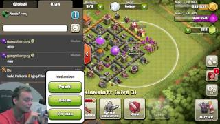 NOOBARMY KLANEN! | Clash of Clans | Norsk Mobilspill