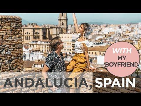 Spain With My Boyfriend (Malaga, Seville, Cordoba, Granada) | Camille Co