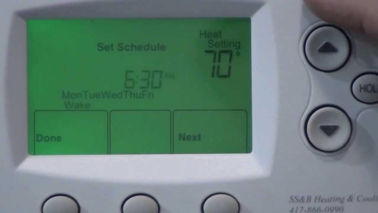 Focuspro 6000 Honeywell Thermostat Youtube