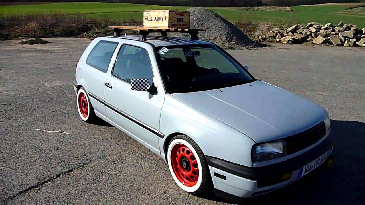 oldschool vw golf 3 youtube. Black Bedroom Furniture Sets. Home Design Ideas