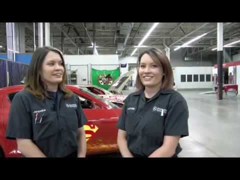 Jacqueline And Nathalie Mische - Lincoln Tech Auto Students