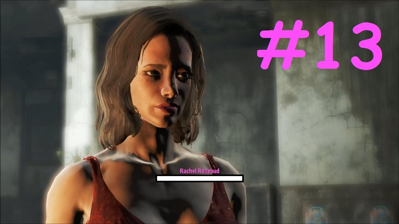 Fallout 4 [#13] Red Dress Fanatic - YouTube