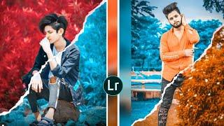 Lightroom Creative Dual Colour Tone Photo Editing Presets | Dual Colour Concept Picsart | Dual Tone