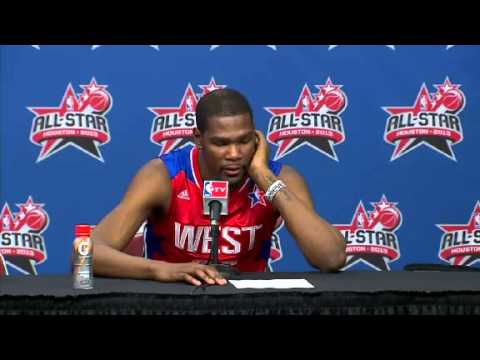 All-Star Postgame: Kevin Durant | 2013 NBA All-Star Game | Feb 17, 2013