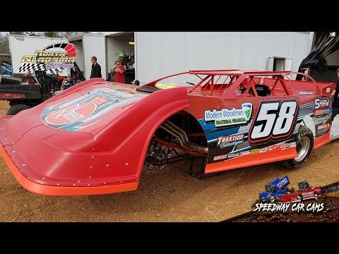 #58 Brandon Shaw - 604 Crate - 3-23-19 North Alabama Speedway - In Car Camera