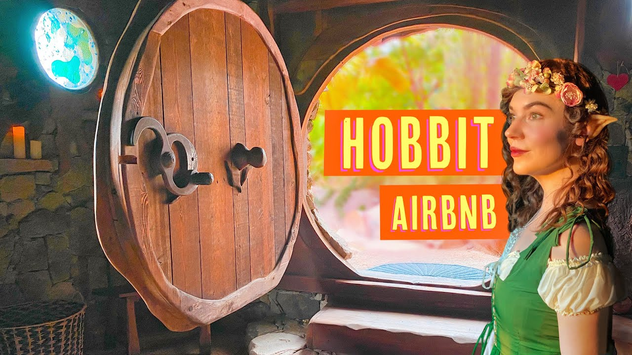 We lived like Hobbits in this Airbnb.