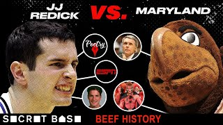 JJ Redick's beef with Maryland was flavored by ugly heckles, prank calls, and Duke's legacy of jerks