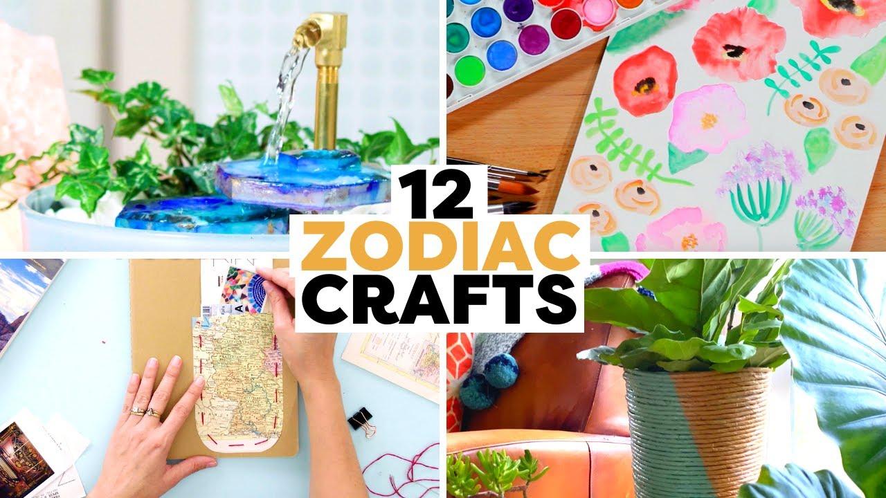 DIY Projects for Your Zodiac Sign | Zodiac DIYs