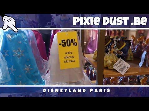 Exceptional Sales in the shops of Disneyland Paris October 2016