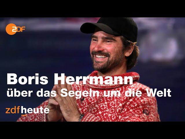 Erster Deutscher der Vendée Globe berichtet über seine Reise | Markus Lanz vom 09. Februar 2021