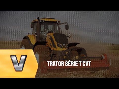 Trator Série T CVT