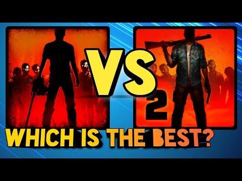 Into the Dead 2 VS Into the Dead Gameplay Comparison