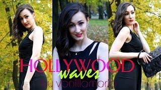 Голливудские локоны / Как сделать волну / Для коротких волос | VanilllaMaria