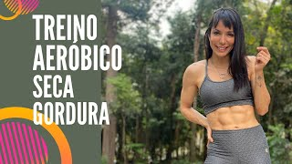 🔴Treino Aeróbico seca gordura - Carol Borba