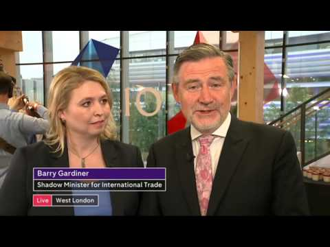 Karen Bradley vs Barry Gardiner Channel 4 News 29 5 17