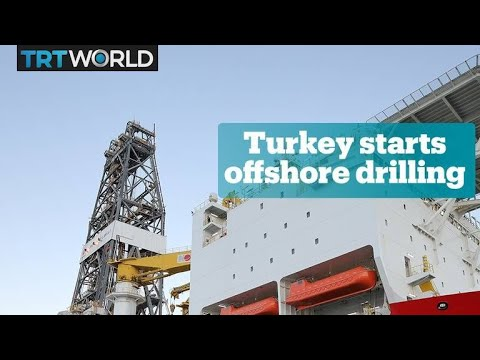 Turkey begins deep drilling in Mediterranean