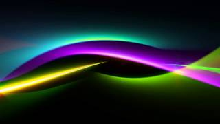 HD Lovely Light Waves Loop 40111