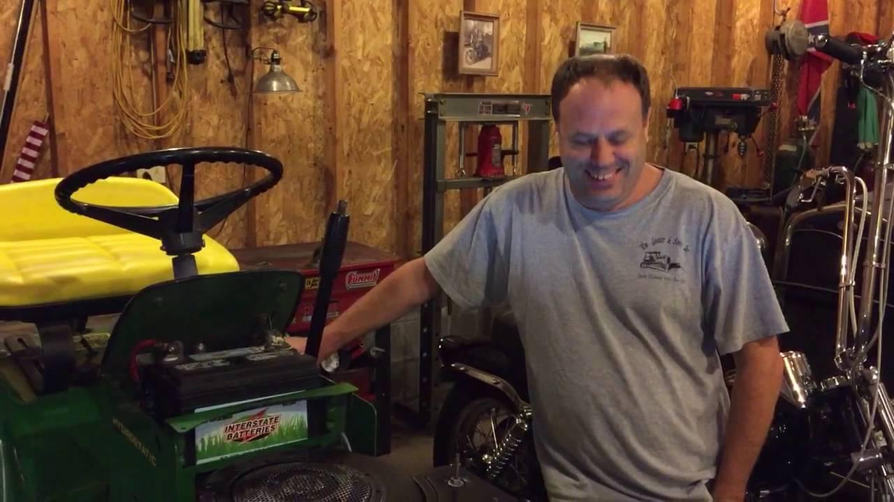 John Deere 111H no spark update