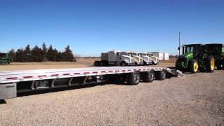 Custom Harvester Drop Deck Implement Trailer by Wilson Trailer