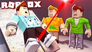 Roblox Adventures - CUT IN HALF DA A LASER IN ROBLOX! (Diventa un Obby Spia)