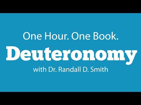 One Hour. One Book: Deuteronomy