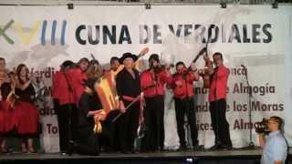 XXVIII Cuna De Verdiales De Almogía Málaga 2013