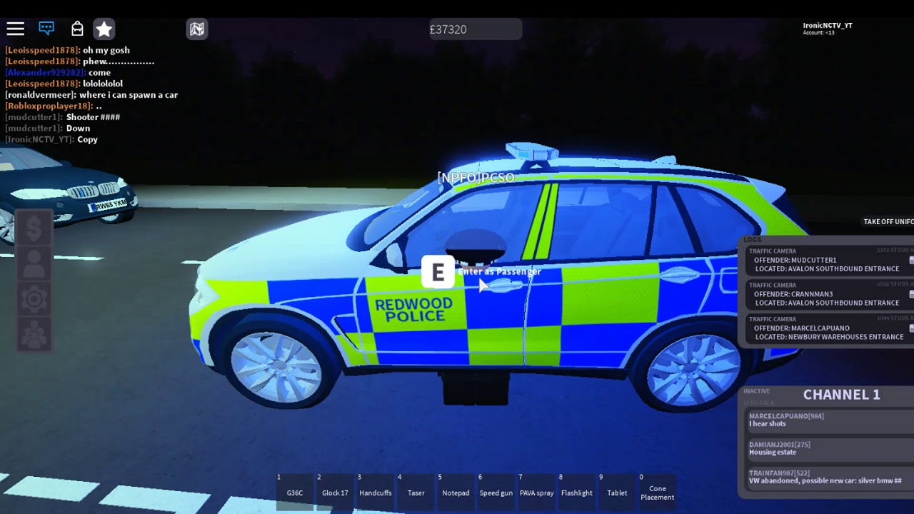 Roblox Uk Rc Firearms Command Patrol Episode 1 Youtube